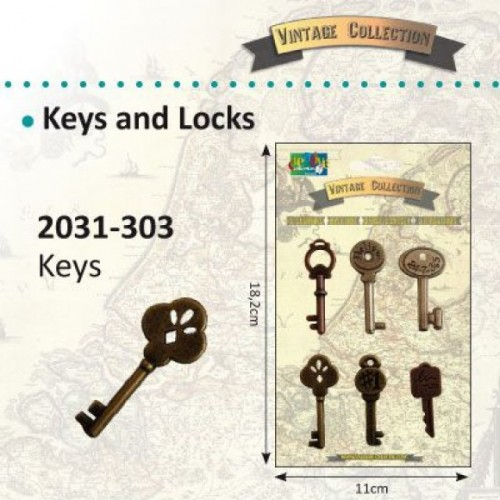Vintage keys - Vintage Collection.
