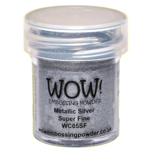 Polvos embossing WOW Silver - Super Fine
