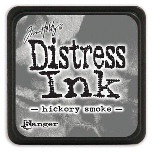 Tinta Distress Mini Hickory Smoke.