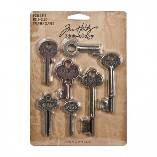 Word Keys Tim Holtz
