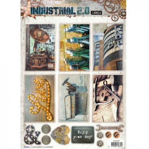 Studio Light Industrial 2.0 Easy 3D Punched Sheet