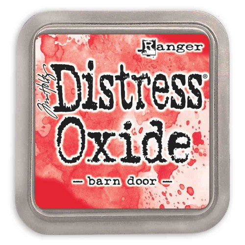 Tinta Distress Oxide Tim Holtz - Barn door.