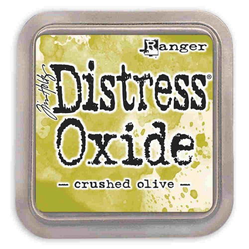 Tinta Distress Oxide Tim Holtz - crushed olive.