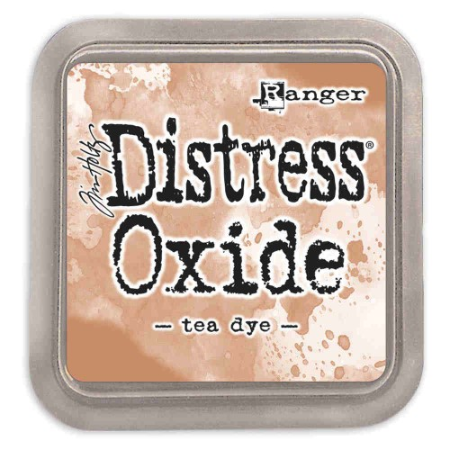 Tinta Distress Oxide Tim Holtz - tea dye.