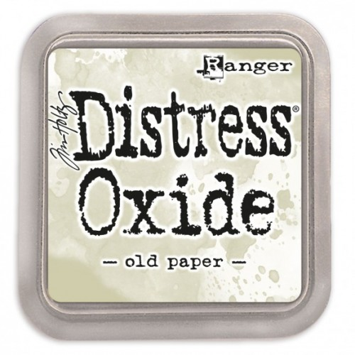 Tinta Distress Oxide Tim Holtz - Old Paper.