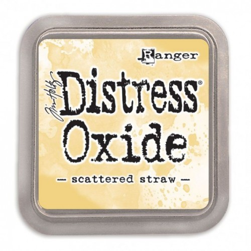Tinta Distress Oxide Tim Holtz - Scattered Straw.