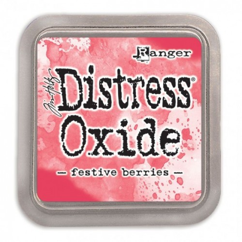 Tinta Distress Oxide Tim Holtz - Festive Berries.