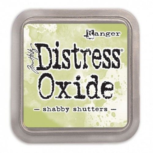 Tinta Distress Oxide Tim Holtz - Shabby Shutters.
