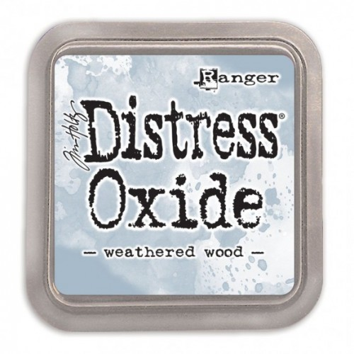 Tinta Distress Oxide Tim Holtz - Weathered Wood.