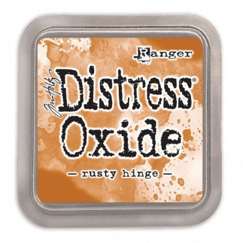Tinta Distress Oxide Tim Holtz - Rusty Hinge.