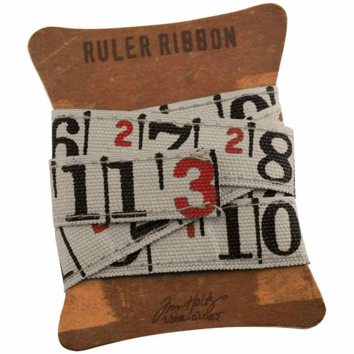 Idea-Ology Canvas Fabric Ruler Ribbon