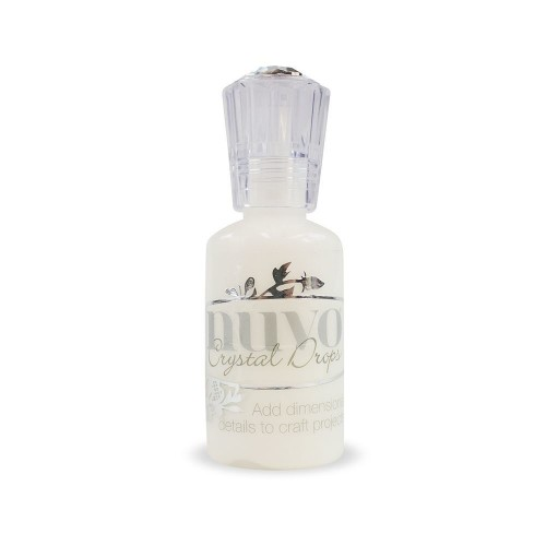 Nuvo Crystal Drops - gloss white.