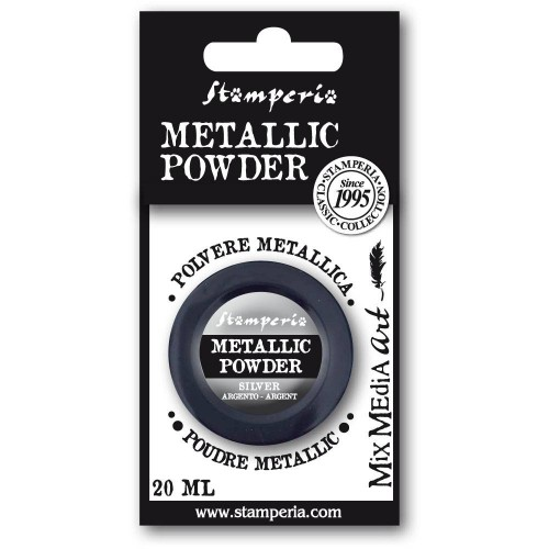 Metallic Powder Silver - Stamperia.