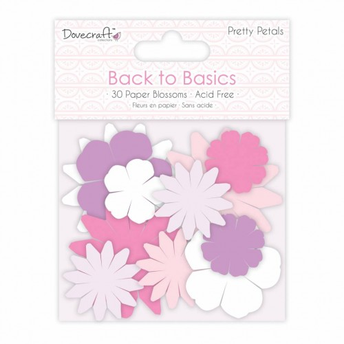 Kit de flores de papel - Dovecraft. Pretty Petals.