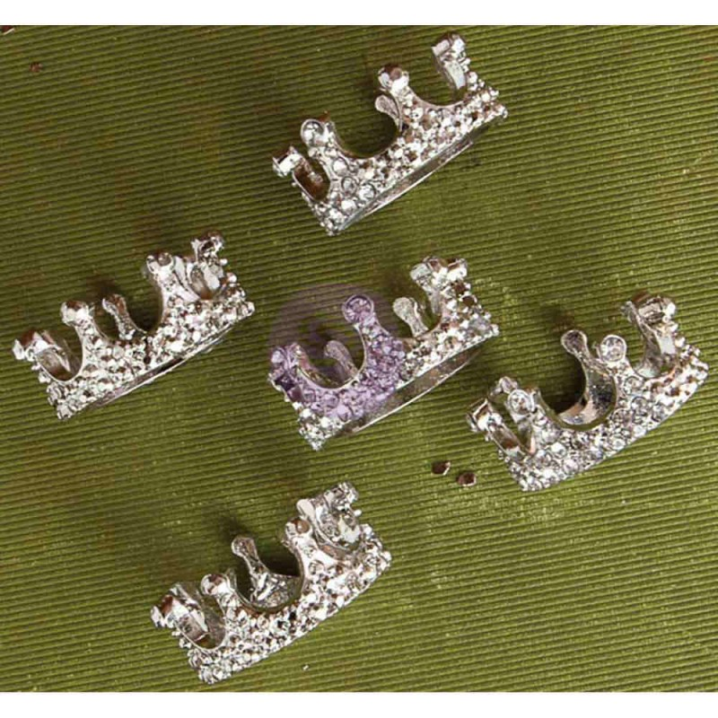 Prima Marketing Memory Hardware Embellishments - French Regalia Crowns II