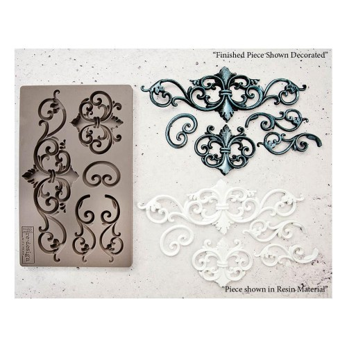 Prima Re-Design Decor Mould - Tillden Flourish
