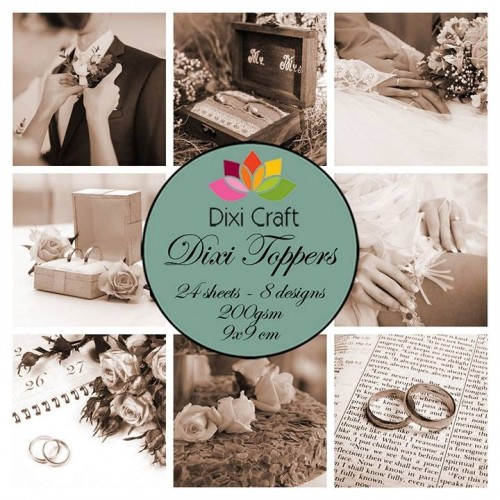 Ephemeras Dixi Craft - Vintage Wedding