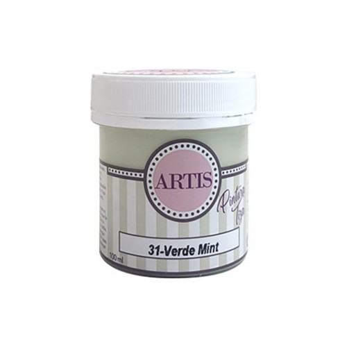 Pintura de Tiza Chalk Paint Artis Mint 100 ml.