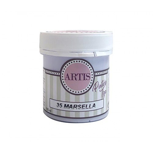 Pintura de Tiza Chalk Paint Artis Marsella 100 ml.