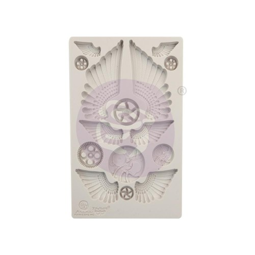 Finnabair Decor Moulds - Cogs & Wings