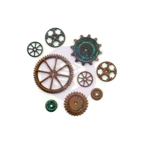 Finnabair Mechanicals Metal Embellishments Machine Parts