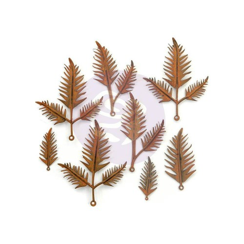 Finnabair Mechanicals Metal Embellishments Woodland Fern