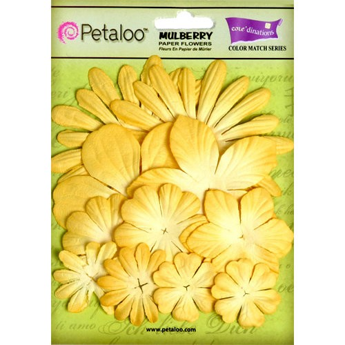 Kit de Flores Petaloo tulip yellow