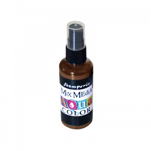 Aquacolor spray Stamperia 60 ml. - Leather