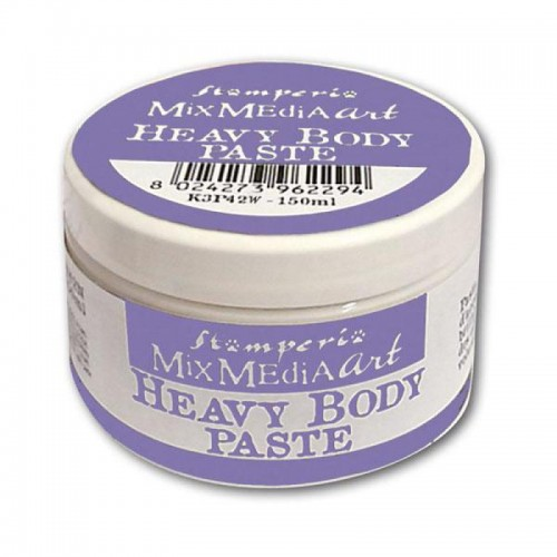Heavy body paste 150 ml. Blanco - Stamperia
