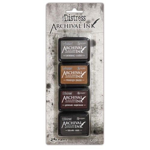 Kit de tintas Distress Archival - Kit 3
