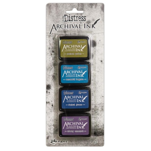 Kit de tintas Distress Archival - Kit 2