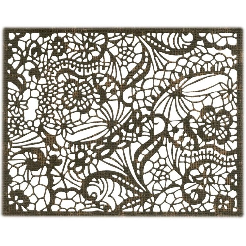 Troquel THINLITS Intricate lace by Tim Holtz