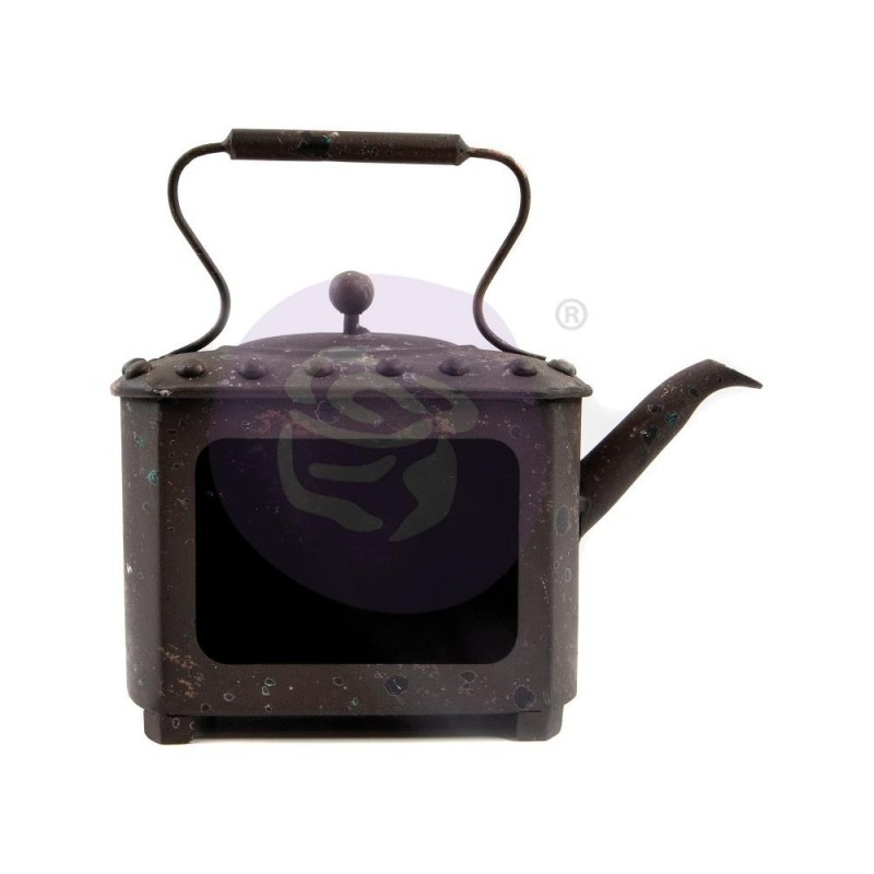 Prima Marketing Altered Metal Frame Rusty Pot