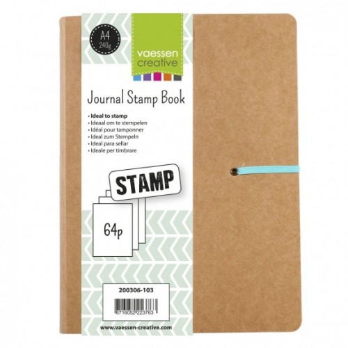 Journal Stamp Book DIN-A4