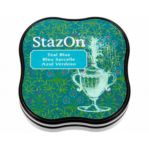 Teal blue StazOn midi