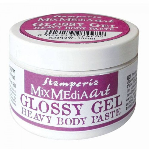 Glossy gel Heavy Body paste - Stamperia