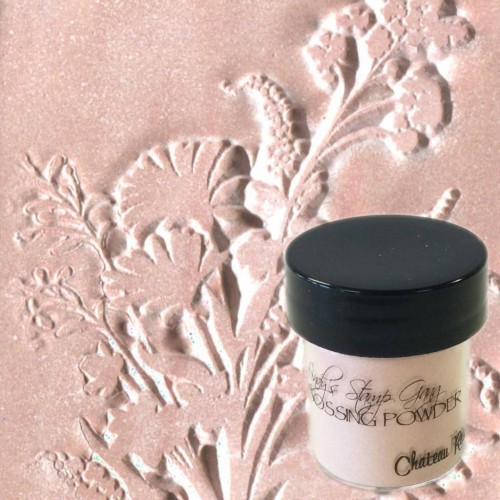 Polvos embossing Lindy's Stamp - Chateau Rose
