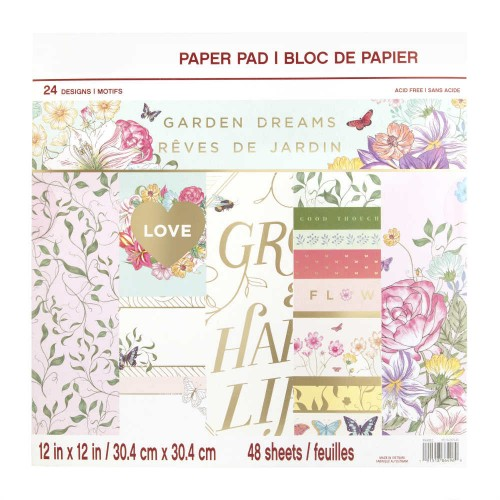 Bloc 30 x 30 Craft Smith - Garden Dreams