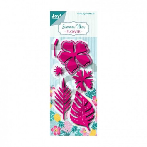 Plantillas de embossing summer vibes flower