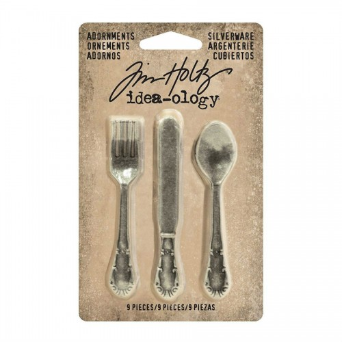 Kit de 9 cubiertos de metal Tim Holtz