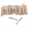 Woodsies No Roll Clothespins