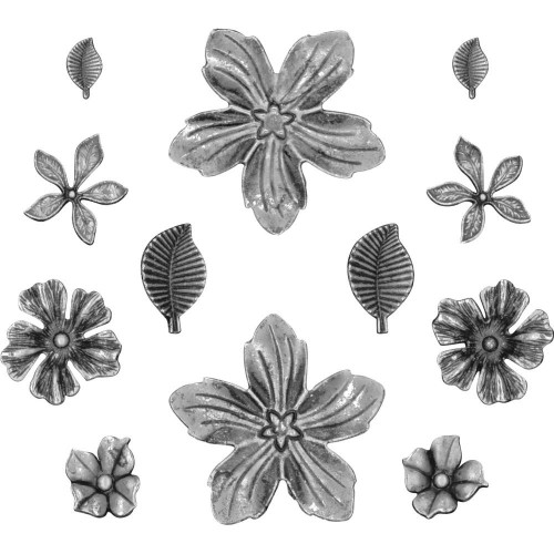 Idea-Ology Metal Flowers - Tim Holtz