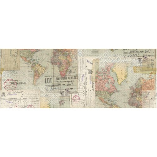 Idea-Ology Collage Paper Travel - Tim Holtz