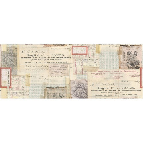Idea-Ology Collage Paper Document - Tim Holtz