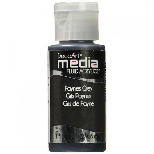 Decoart Media Fluid Acrylic Paint - Paynes Gray