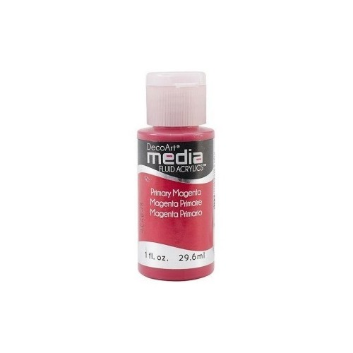Decoart Media Fluid Acrylic Paint - Primary Magenta