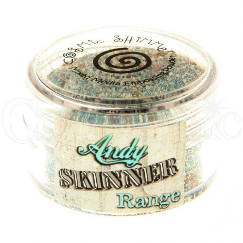 Cosmic Shimmer Mixed Media Embossing Powder - Crystal Glaze by Andy Skinner