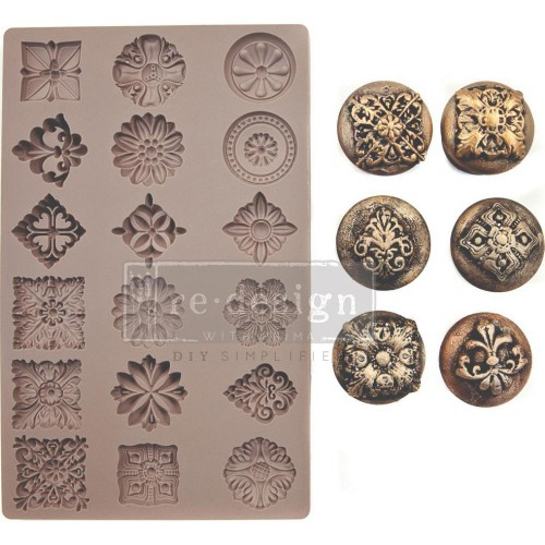 Prima Marketing Moulds - Curio Trinkets