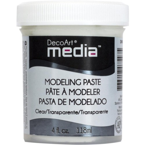 Modeling Paste clear - Decoart
