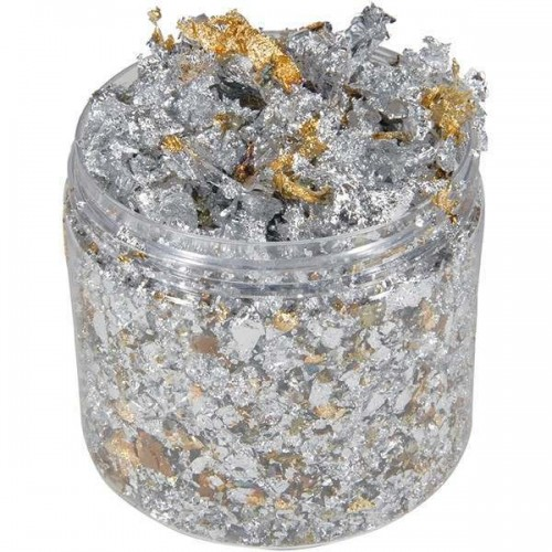 Cosmic Shimmer Gilding Flakes Silver Dream